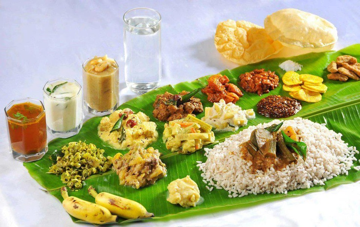 Musings n scribblings of a philanthrope onam pookkalam in traditional onam lunch forumfinder Image collections