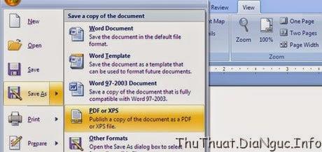 3 cách chuyển văn bản Word, Excel thành PDF đơn giản