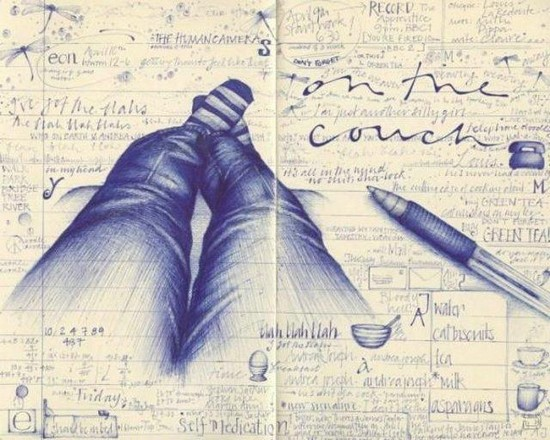DRAW IT: Awesome Pen Drawings from Students Notebooks