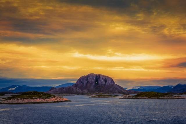 Torghatten — Mountain with a Hole Inside