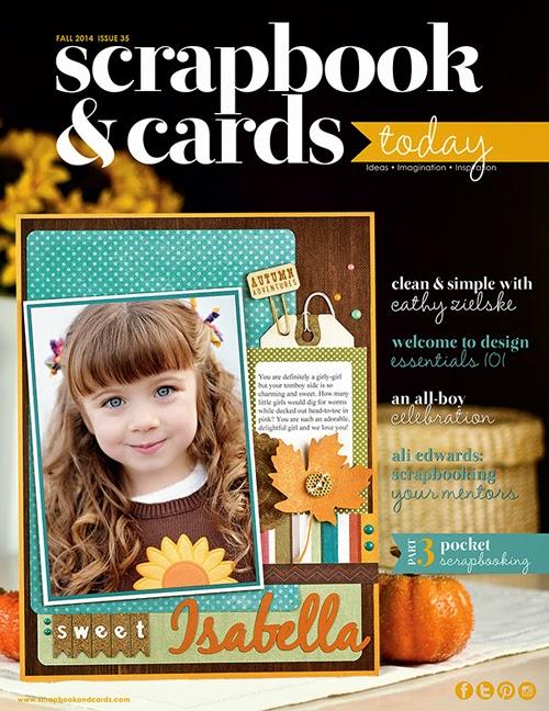 Scrapbook & Cards Today magazine