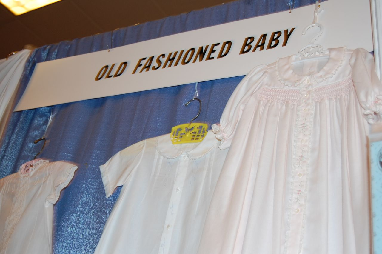 The Old Fashioned Baby Sewing Room: Heirloom Market in Birmingham