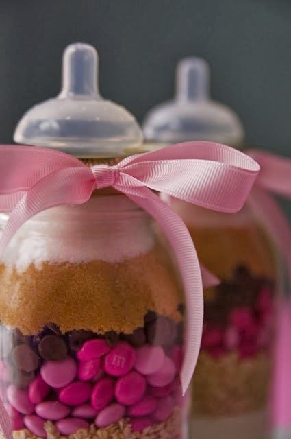 A Gift Of Dry Cookie Mix Baby Shower Ideas Themes Games