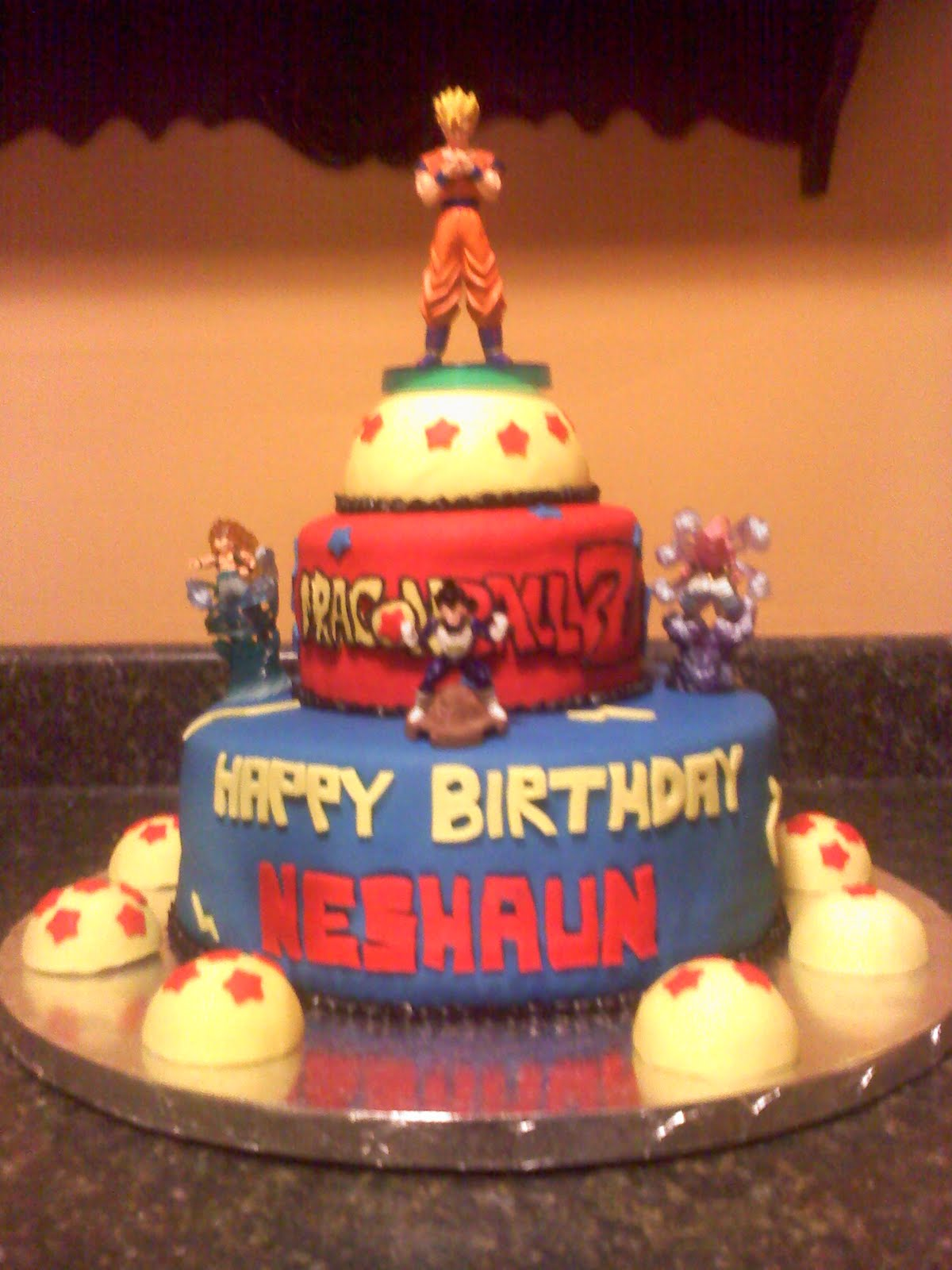 Lick Your Lips Cakes DragonBall Z Cake