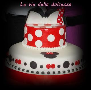 Torta ispirata a Minnie