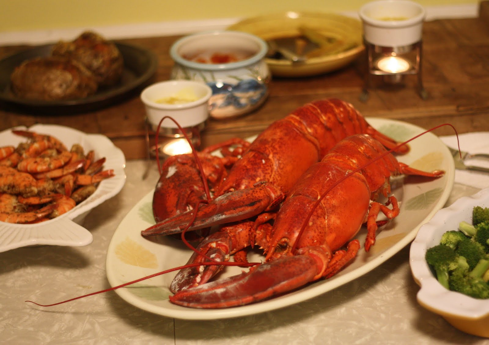 how to cook steamed lobster