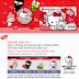 Hong Leong bank Hello Kitty 40th Anniversary Debit Card