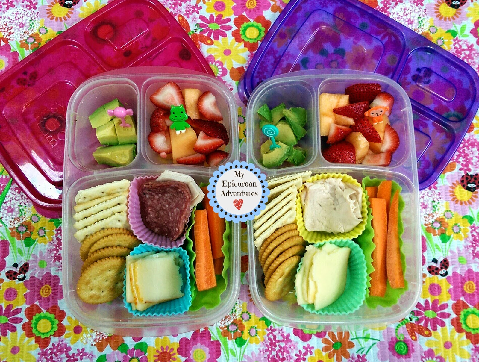My Epicurean Adventures: Play Date Lunchables @easylunchboxes