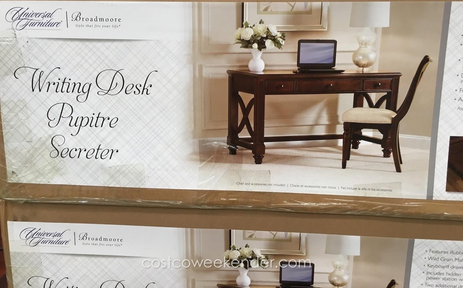 Charmant Universal Furniture Broadmoore Writing Desk: Elegant And Stylish