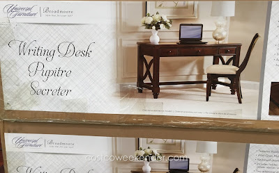 Universal Furniture Broadmoore Writing Desk: elegant and stylish