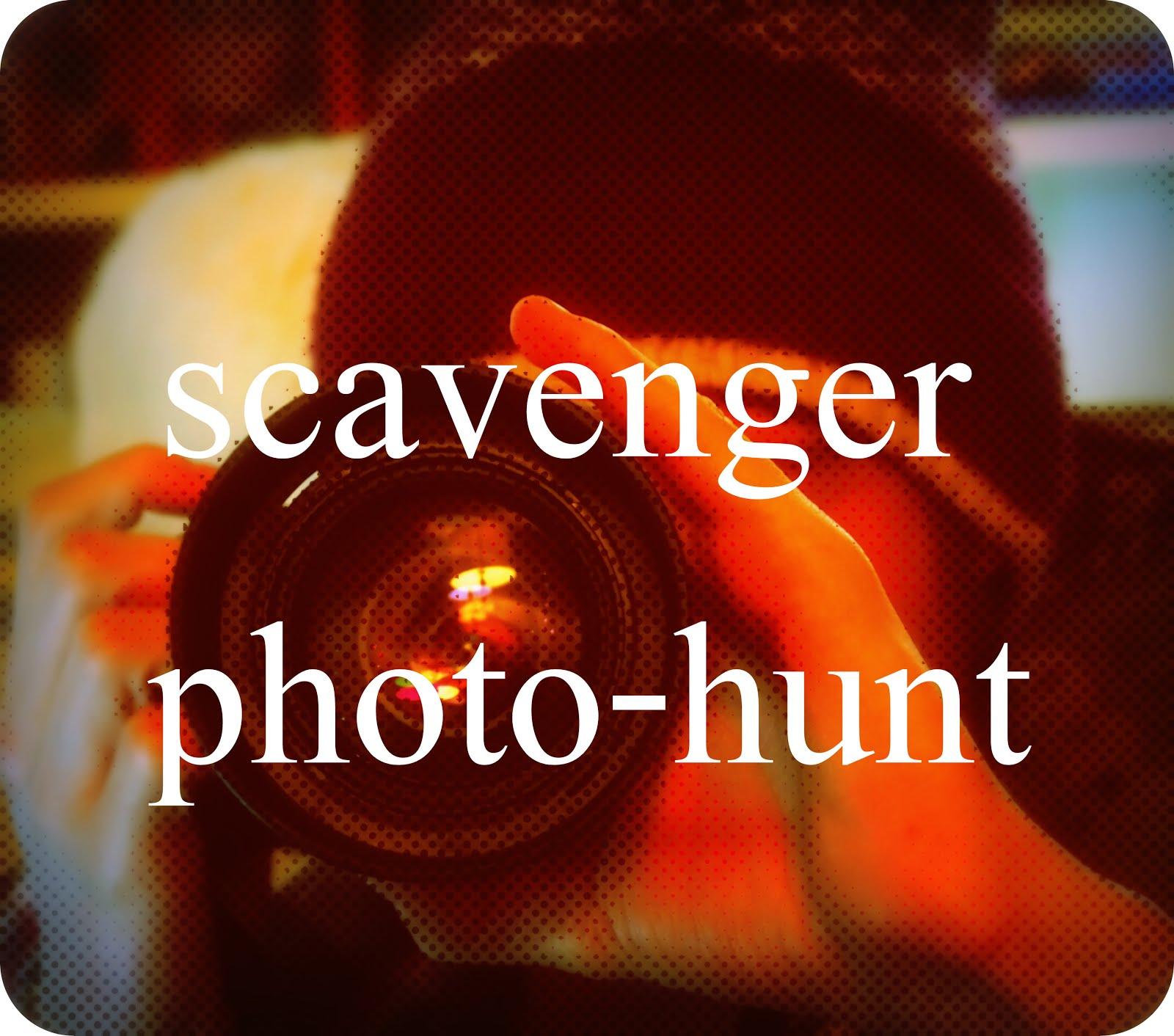 Scavenger photo-hunt