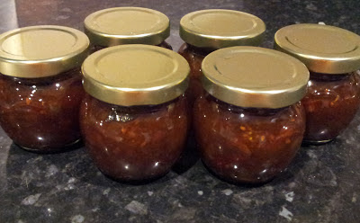 The Moving Foodie Blog: Recipe: Green Tomato Chutney