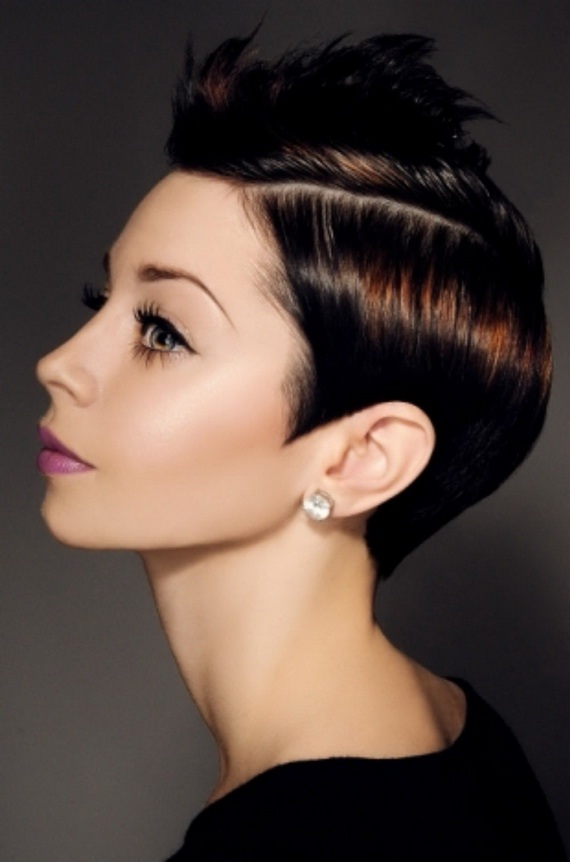 Причёска на дискотеку на короткие волосы
