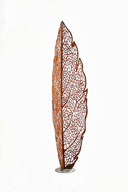 Lump Leaf Skeleton Sculpture