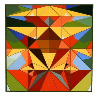 famous paintings with geometric shapes