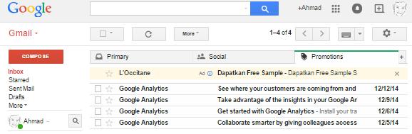 Cara Mengganti Themes Email Gmail