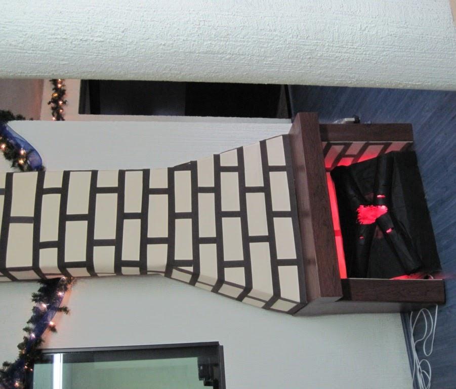 Proyectos ocios y m s hacer chimenea decorativa homemade - Hacer chimenea decorativa ...