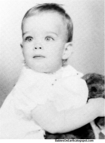 baby Brooke Shields