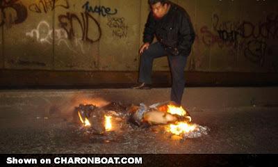 corpo em chamas combustão espontânea humana