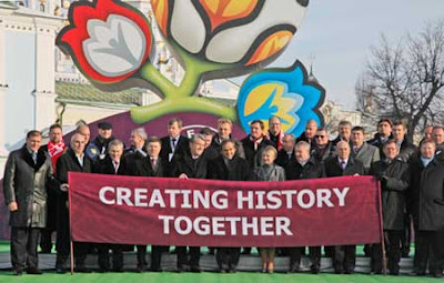 Creating History Together UEFA EURO 2012