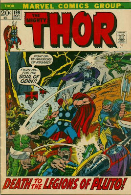 Thor #199, Hela vs Pluto