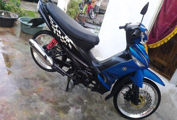 Motor Vega zr Modifikasi Modifikasi Yamaha Vega zr Velg