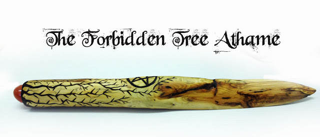 The Forbidden Tree Yew Athame wiccan, witch, wicca, pagan