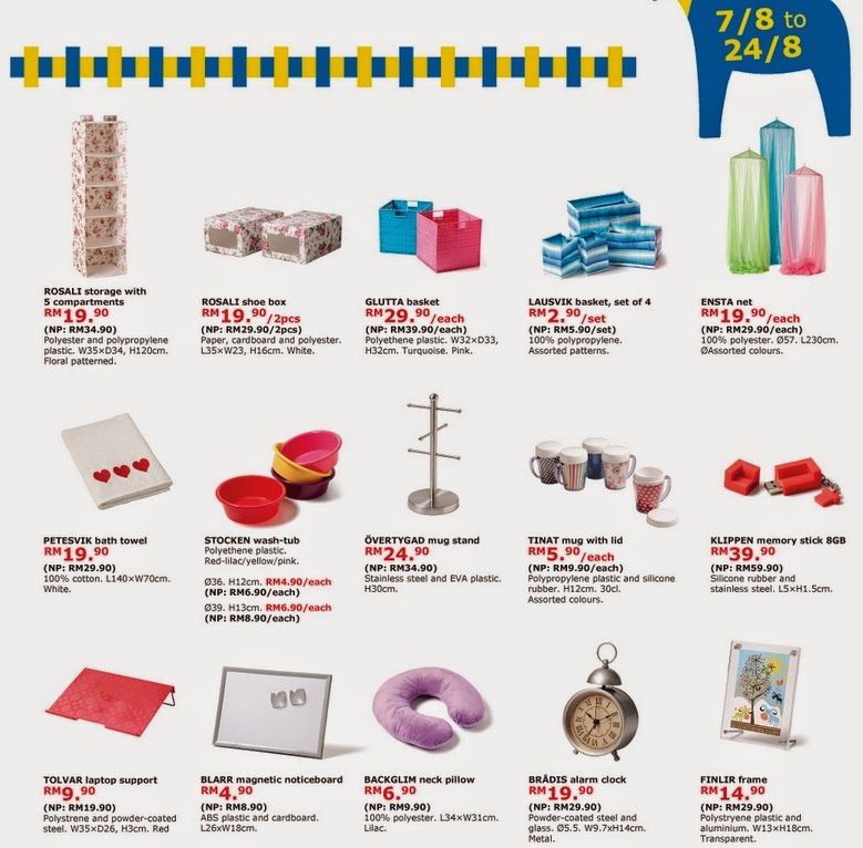 IKEA promotion from 7-24 August 2014