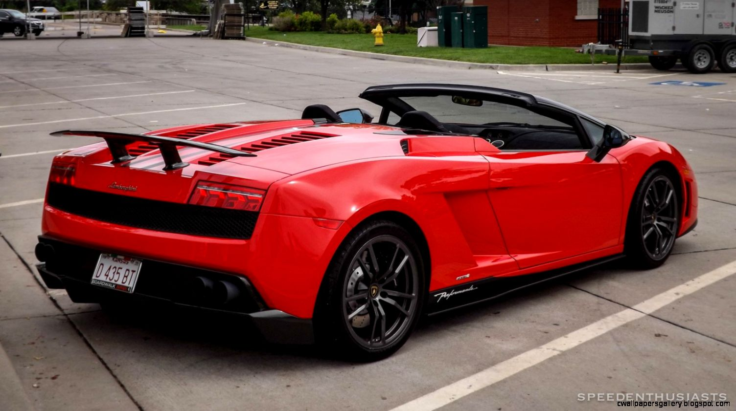 Lamborghini Gallardo LP570 4 Spider Performante Cabriolet