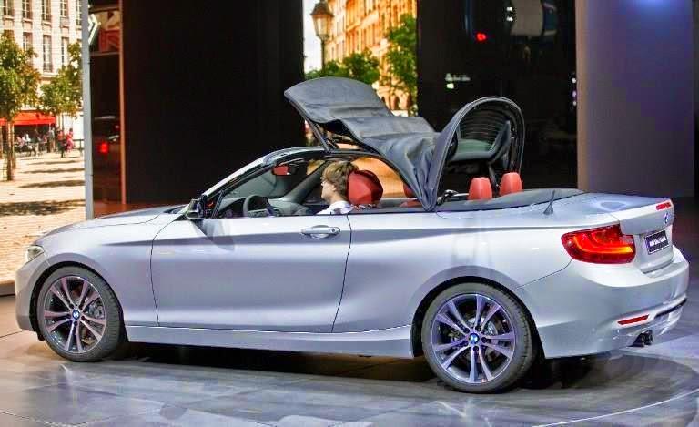 BMW , معرض , السيارات , باريس , تكشف , الستار , عن , الفئة , الثانية , المكشوفه