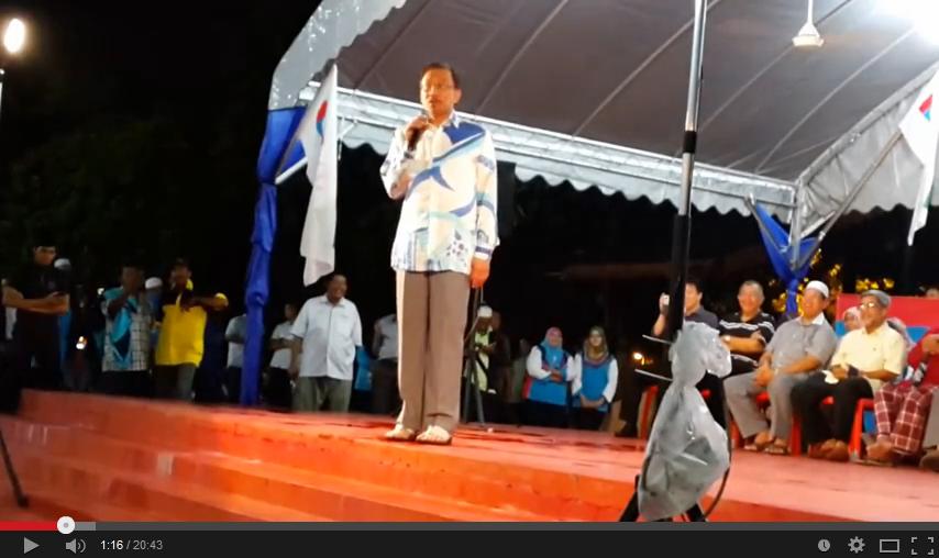 Ucapan Terakhir Anwar Ibrahim sebagai MP Permatang Pauh di Permatang Pauh Video Inside