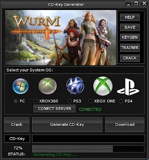 Wurm Unlimited CD Key Generator (Free CD Key)