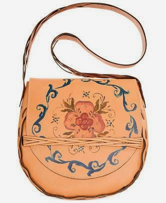 Rosemailing Firenze Saddle bag