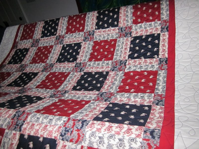 throw white red nautical stripe quilted quilt and blue quilts nastquth