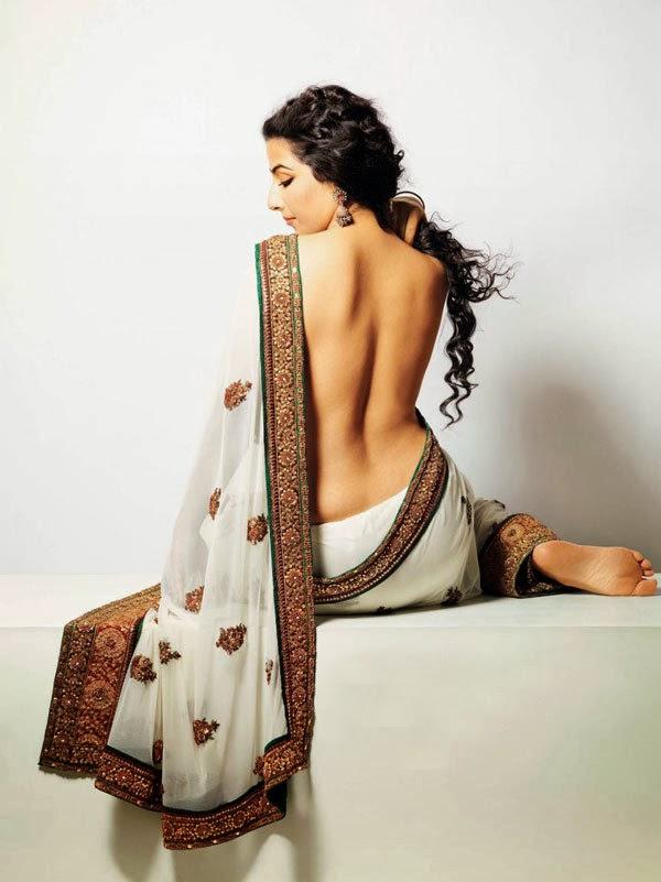 Vidya Balan backless
