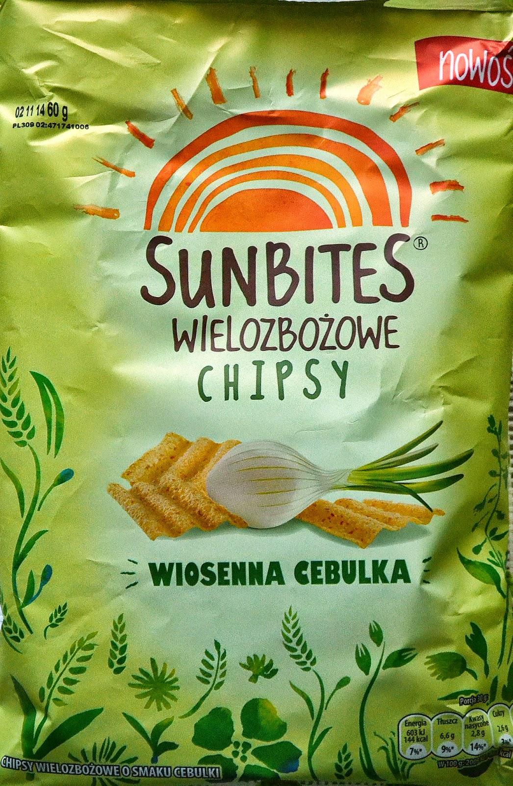 Nowość od Sunbites ! Chipsy wielozbożowe