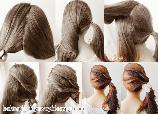 Foto Cara Mengikat Rambut Model | newhairstylesformen2014.com