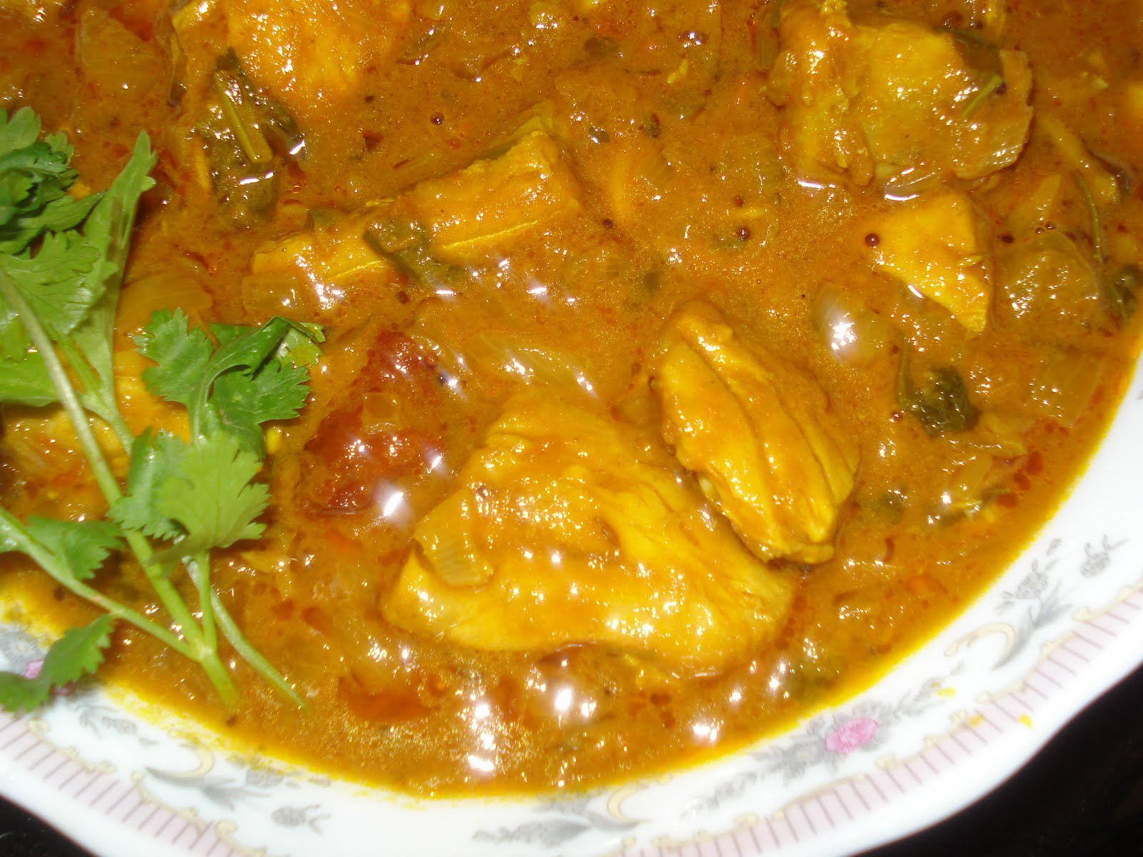 how to cook tuna fish curry