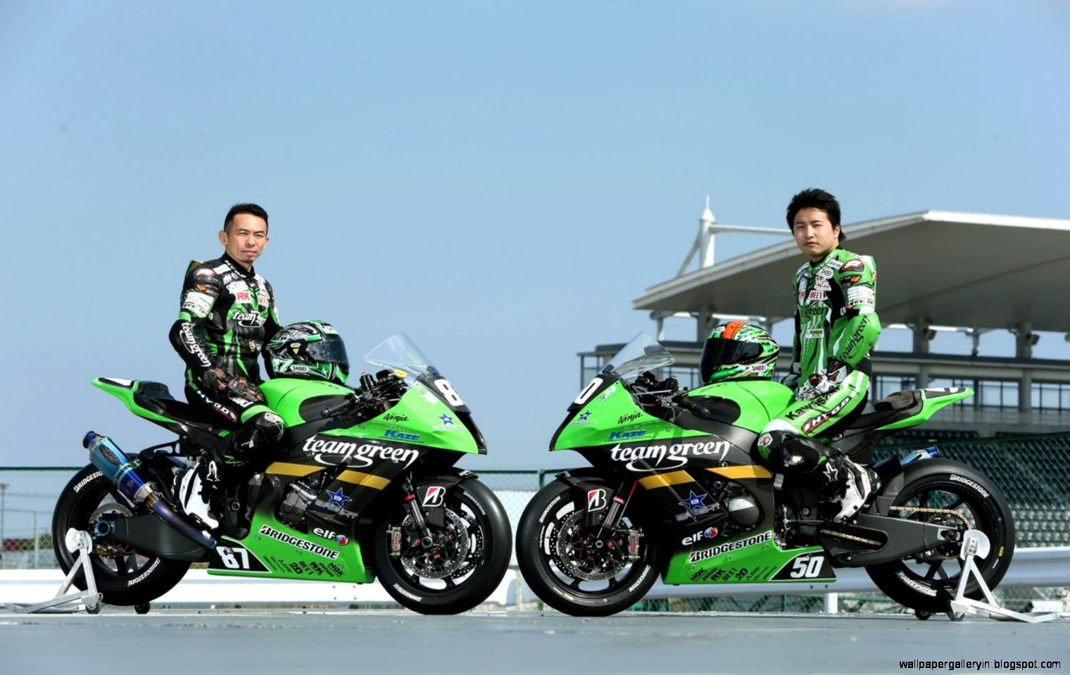 Superbike Kawasaki JSB HD 2537 Wallpaper