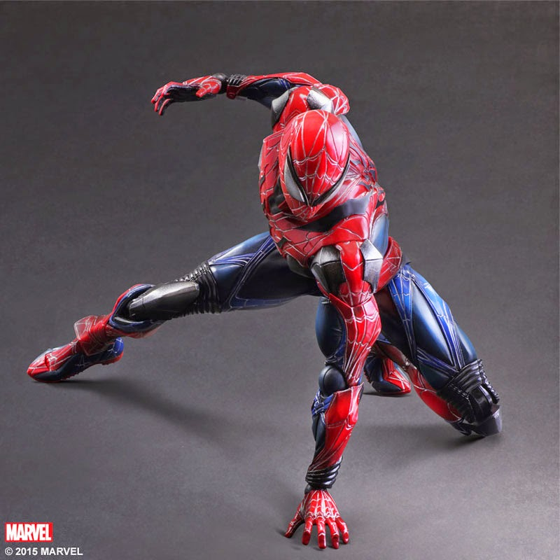figure marvel gundam century spider man