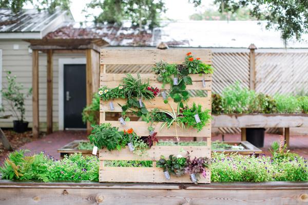 home garden diy une palette recycl e pour un jardin vertical. Black Bedroom Furniture Sets. Home Design Ideas