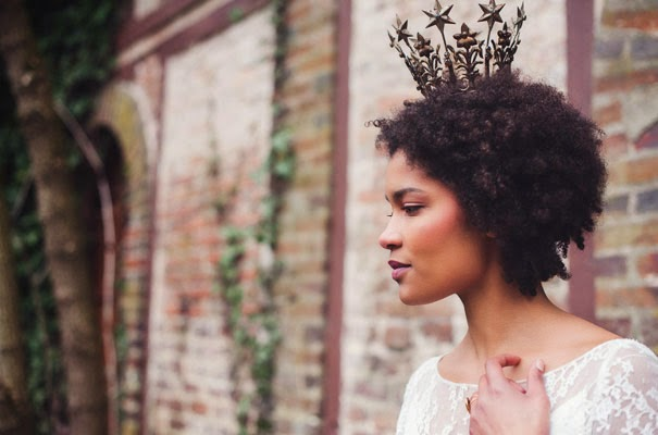 my fair hair: Lookbook | Natural Hair Wedding Inspired by Nature