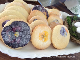 Pansy Sugar Cookie