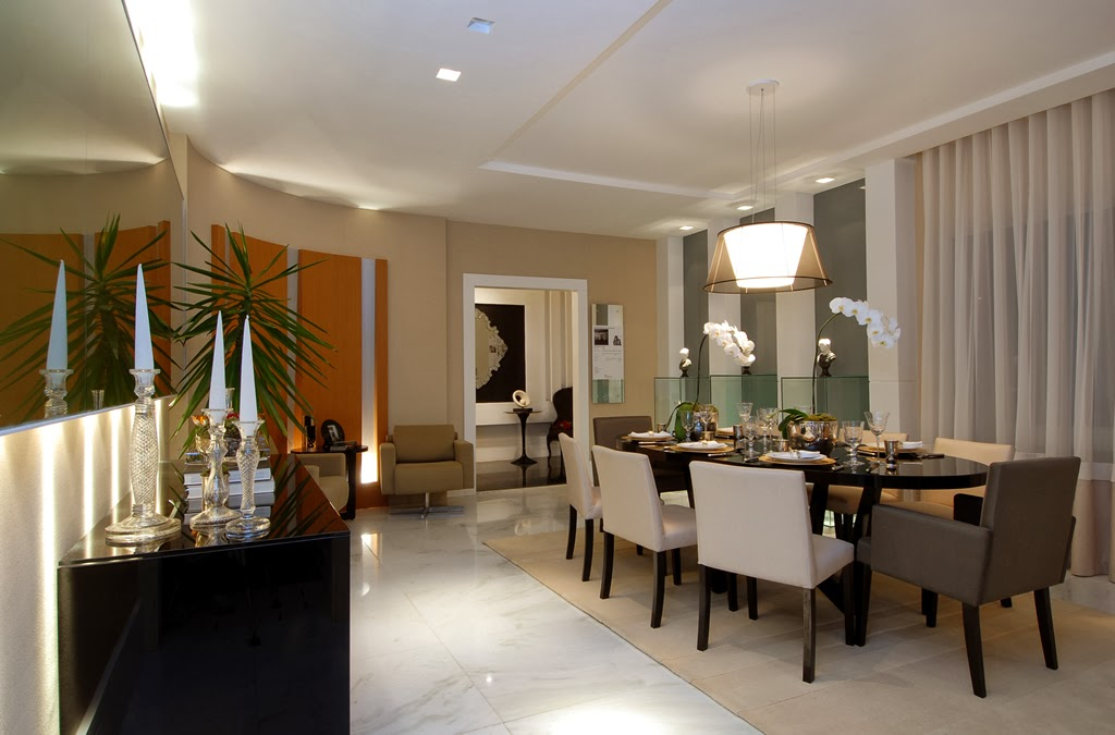 Sala De Jantar Luxuosa ~ Salas de jantar50 modelos maravilhosos e dicas de como decorar