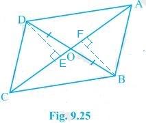 ncert solution for class 9 maths chapter 9