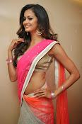 Shubra Aiyappa glamorous in half saree-thumbnail-13