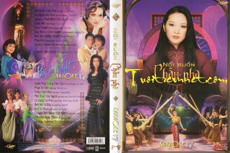 PBN Karaoke 17: Nỗi Buồn Châu Pha (DVD9)