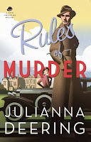 Historical Romantic Mystery: Rules of Murdery by Julianna Deering