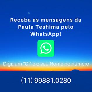 Mensagens via WhatsApp