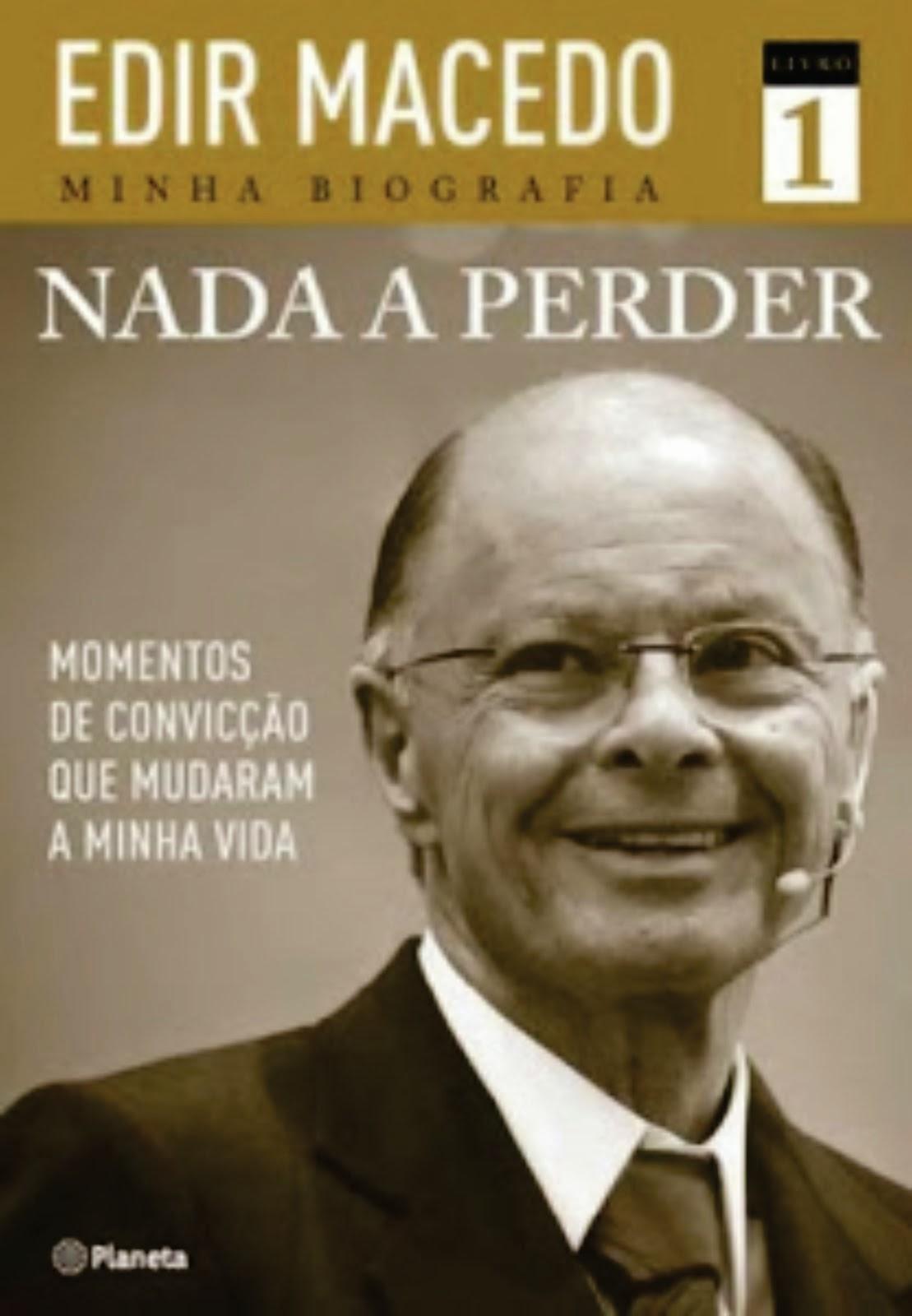 LIVRO NADA A PERDER - COMPRE O SEU